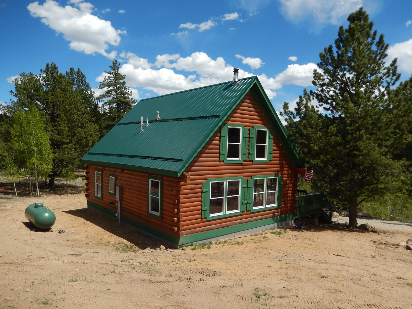 Log Cabin at  Eleven Mile Reservoir For Sale