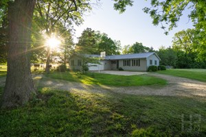 COUNTRY LIVING IN ROCHESTER SCHOOLS SITTING ON 8.62 ACRES!