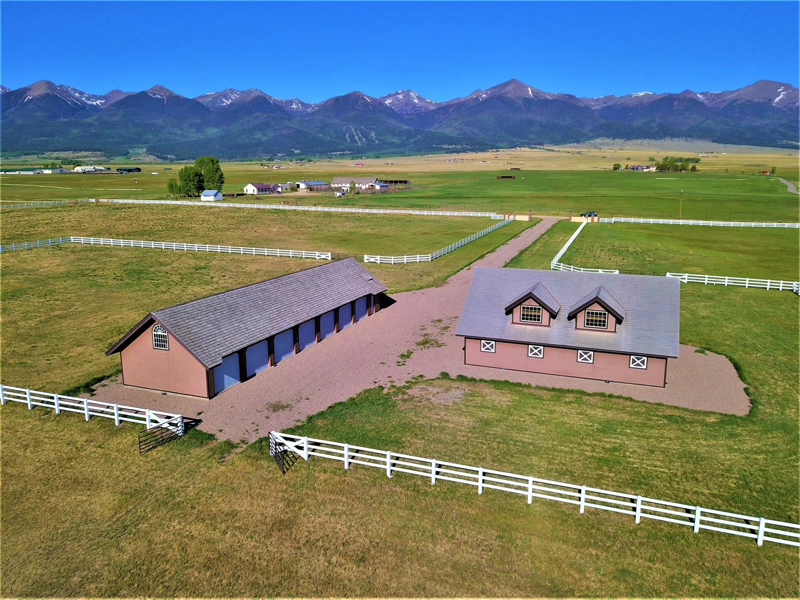 Stunningly Beautiful Horse Ranch in Westcliffe, Colorado