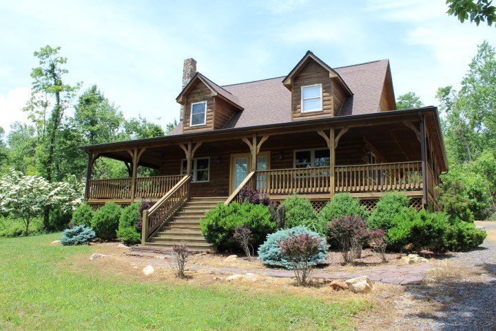 LOG HOME WITH 2.5 ACRES - PATRICK COUNTY, VIRGINIA