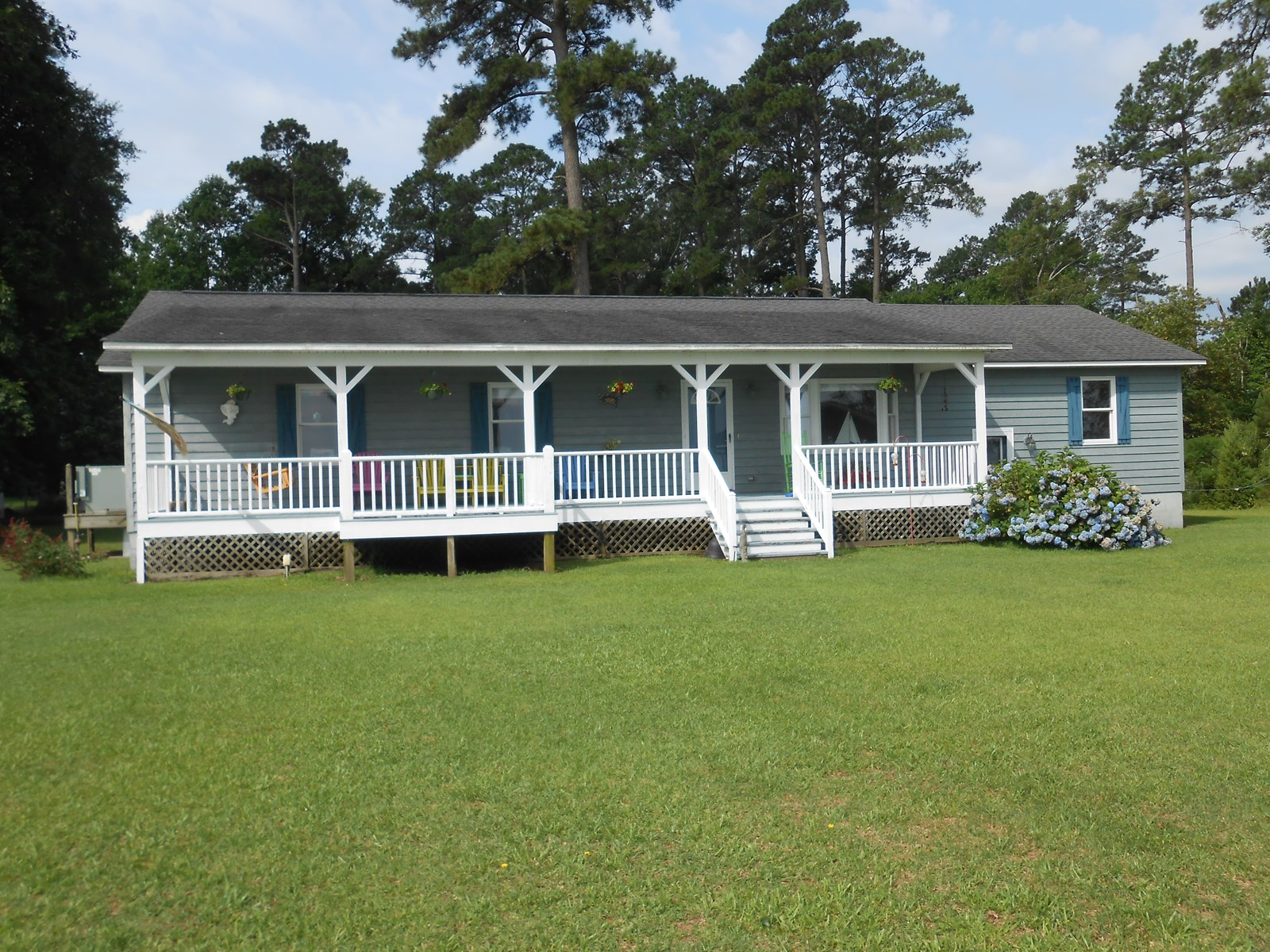 Riverfront Home with Spectacular Views in Beaufort County NC