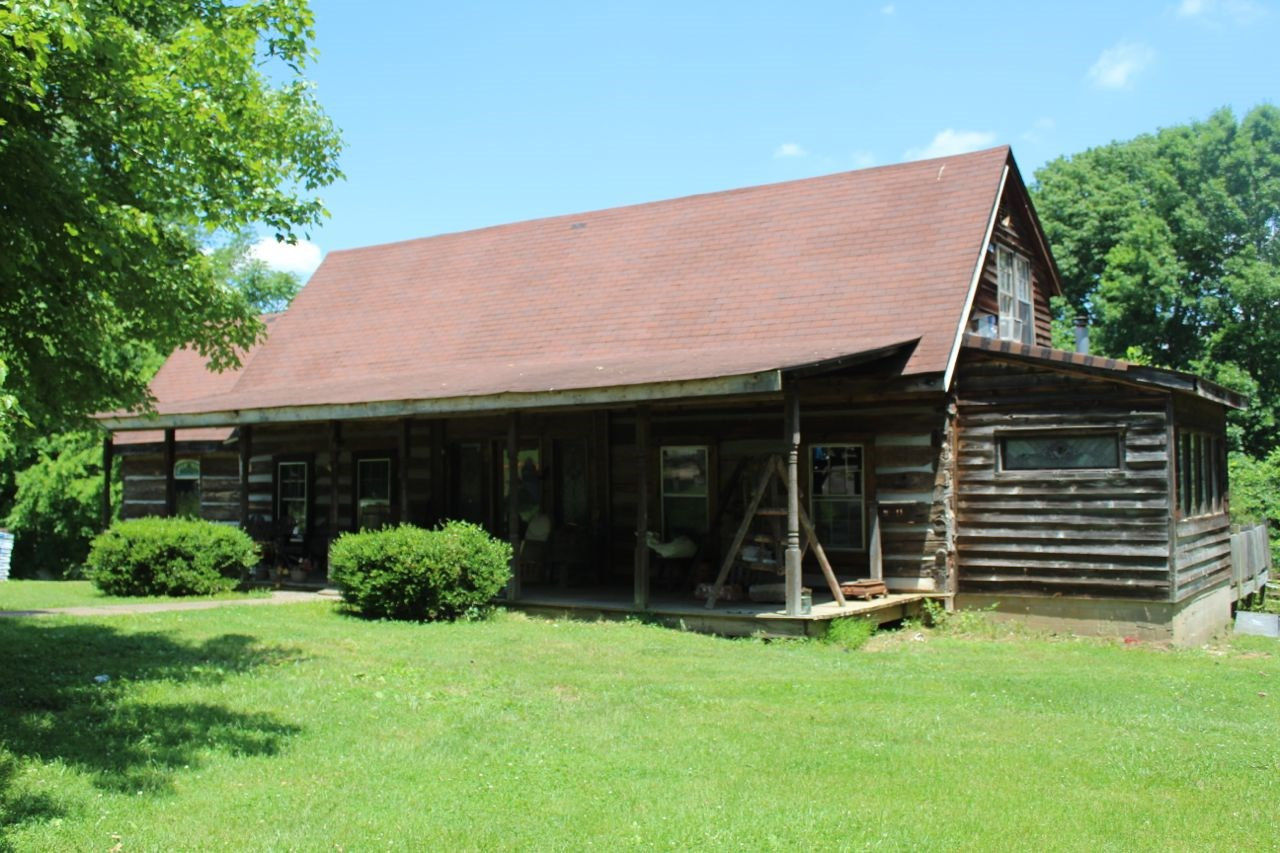 Log Home, 34 Acres and Drakes Creek Frontage For Sale