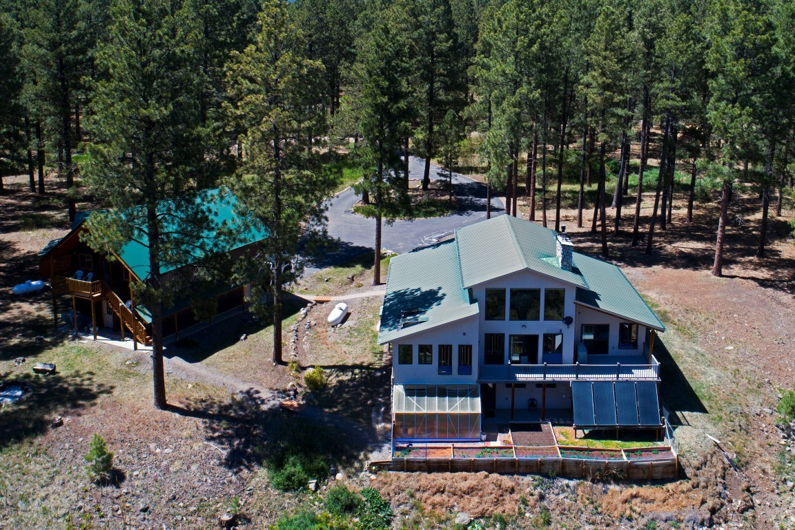 Custom Home with Guest House and Acreage for sale Chama NM