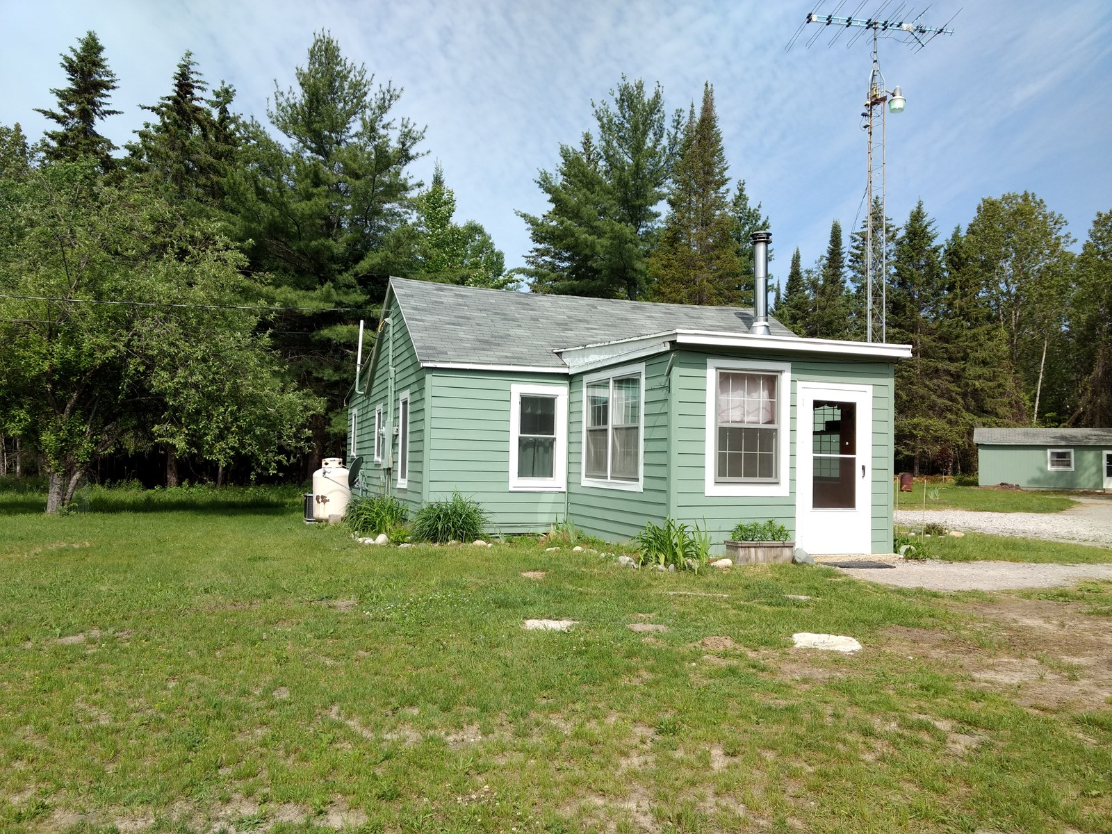 Cabin with Acreage in Northern Michigan near Atlanta MI
