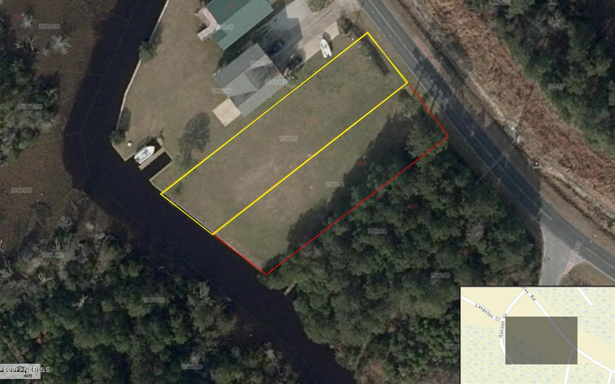 Waterfront Lot for Sale in Sneads Ferry, NC - Chadwick Acres