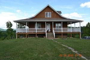 HOME & ACREAGE FOR SALE  HUNTSVILLE, TN, MOUNTAIN FARM