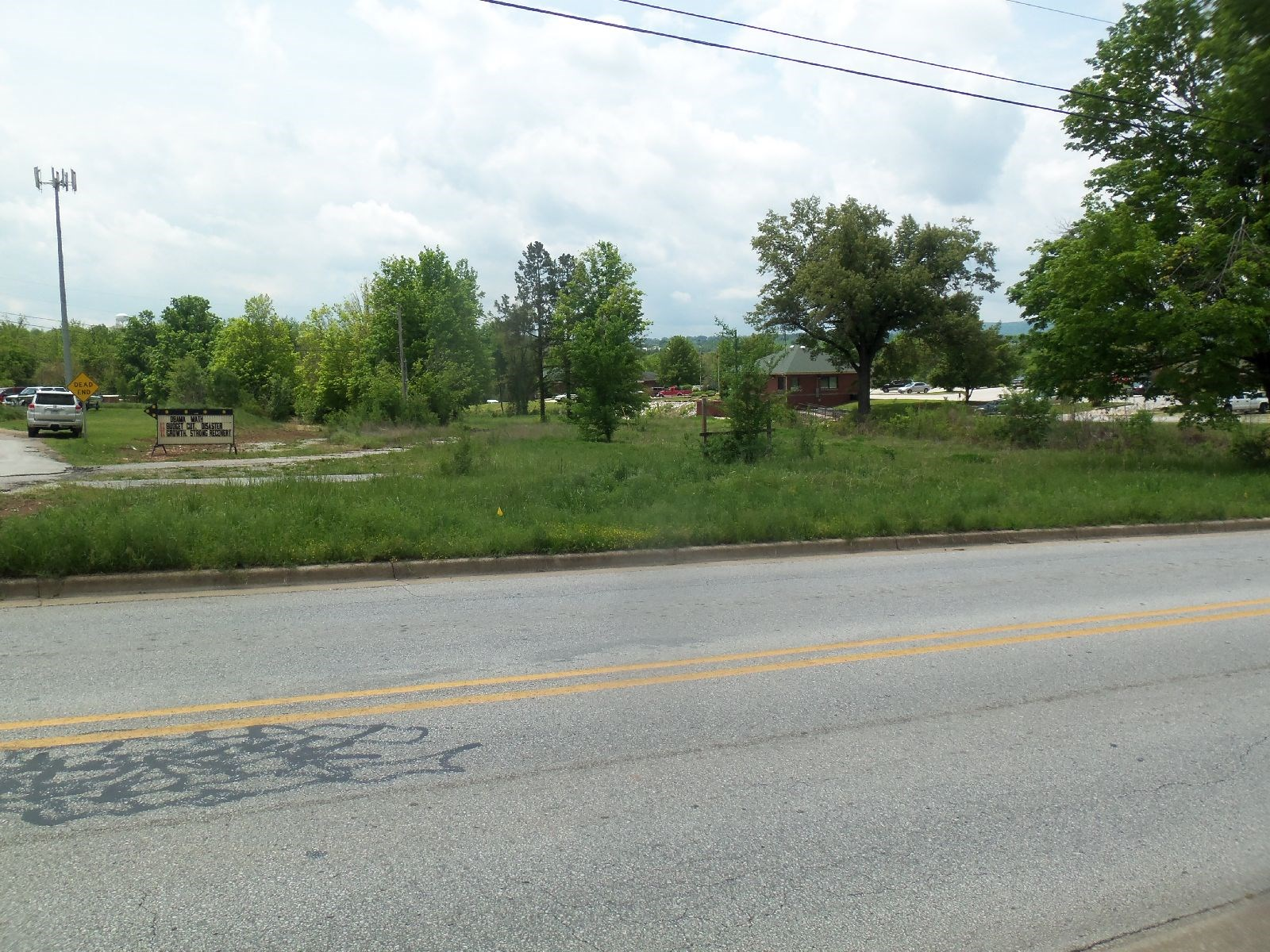 COMMERCIAL LAND PROPERTY NEAR BUSY INTERSECTION IN HARRISON