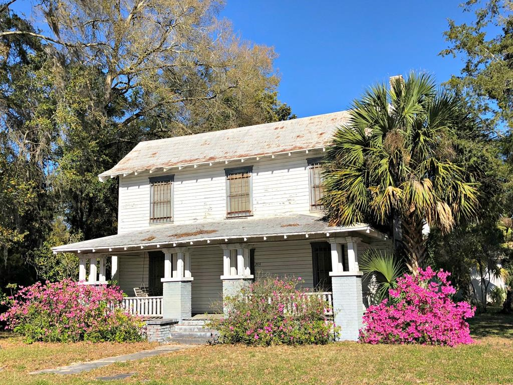 GORGEOUS HISTORIC HOME WITH UNLIMITED POTENTIAL - Trenton FL