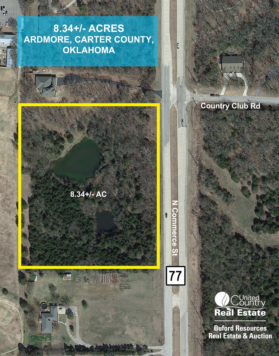 LAND PROPERTY FOR SALE GARVIN CARTER COUNTY OKLAHOMA