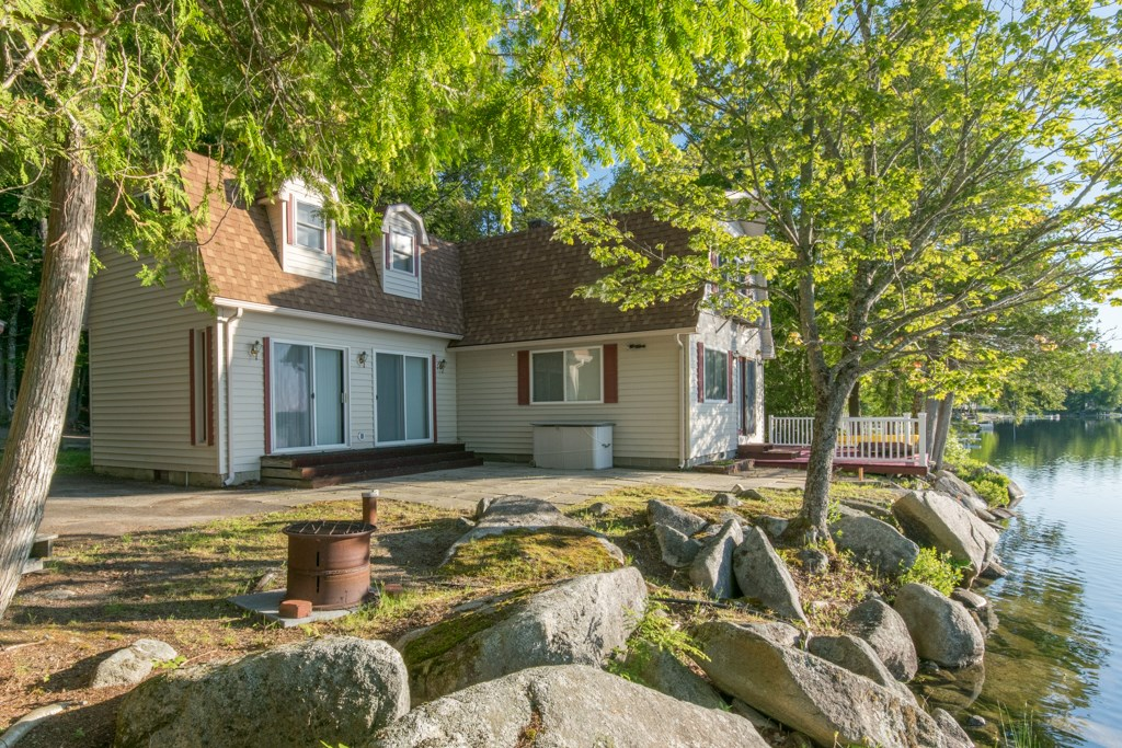 Maine Waterfront Camp for Sale in Lincoln