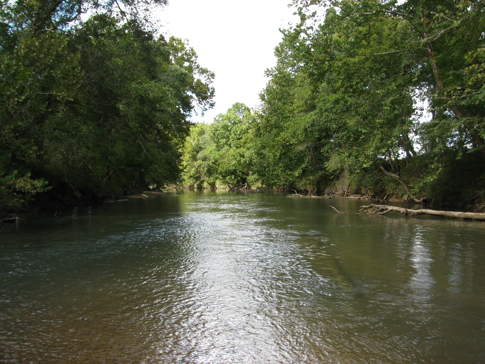WATERFRONT LOT FOR SALE, LAND ON A CREEK, FISHING