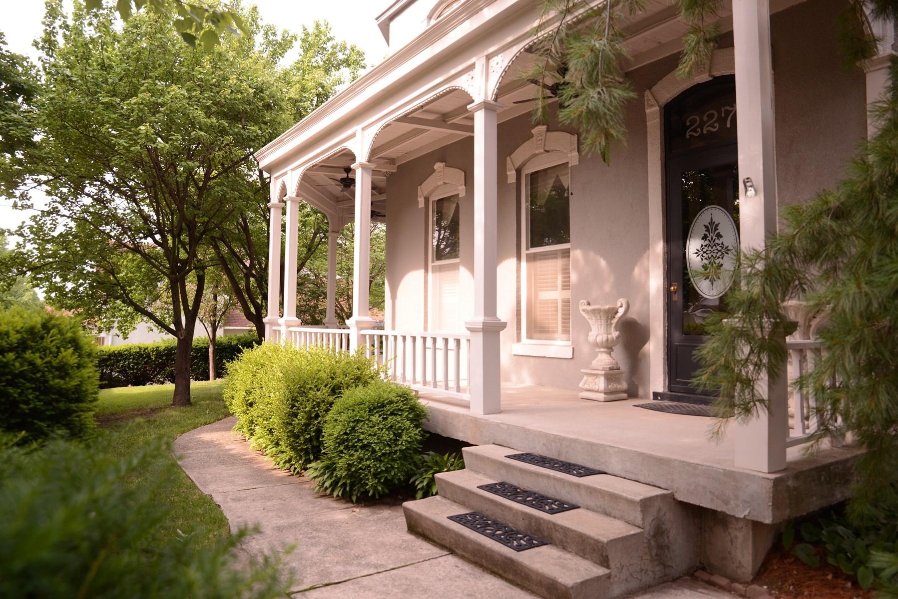 Historic Victorian Home For Sale Near Benedictine College