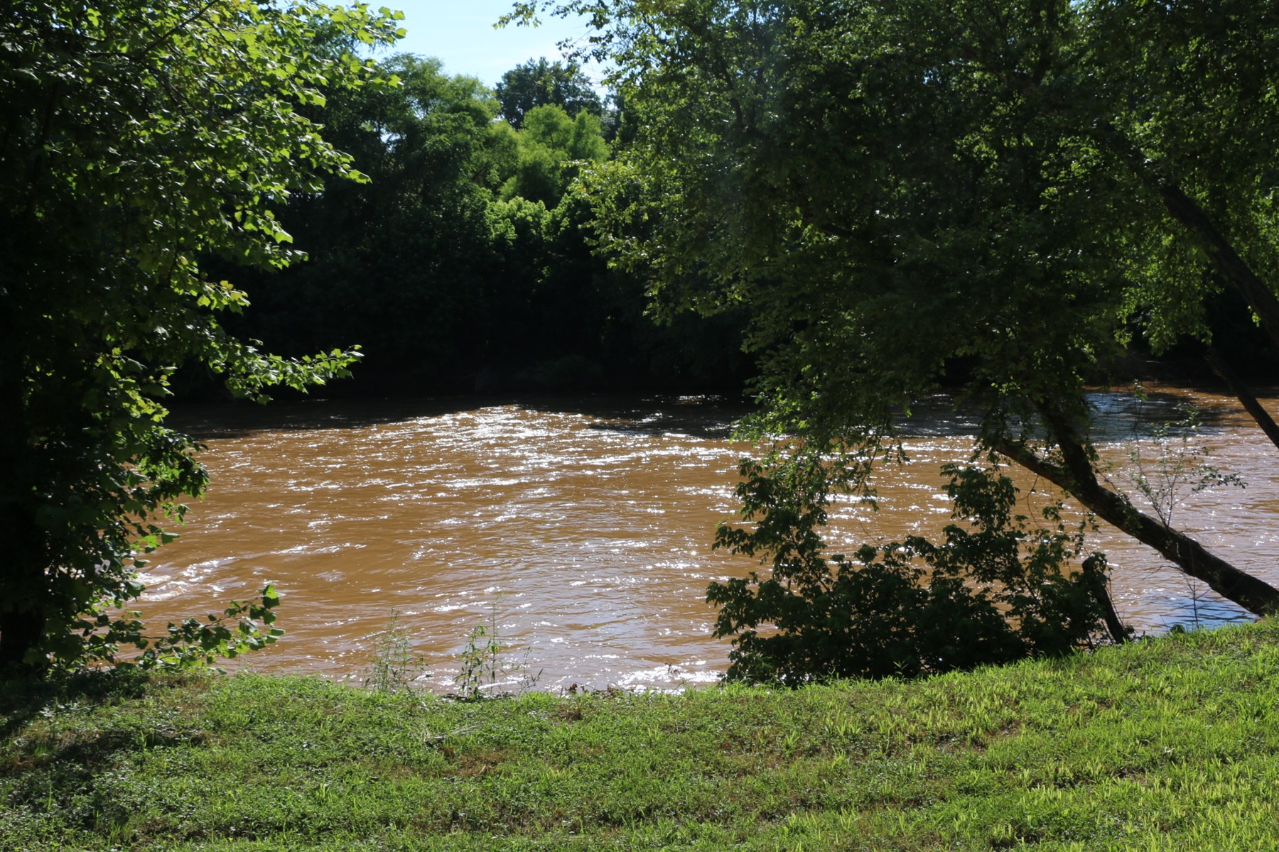 Land for sale in Clemmons NC - Riverfront Land