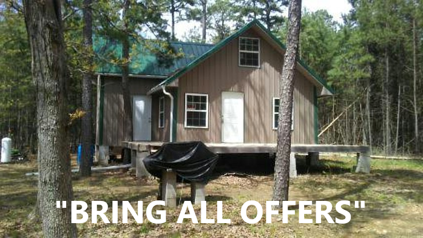 Mountain Cabin Property For Sale Pushmataha County Oklahoma