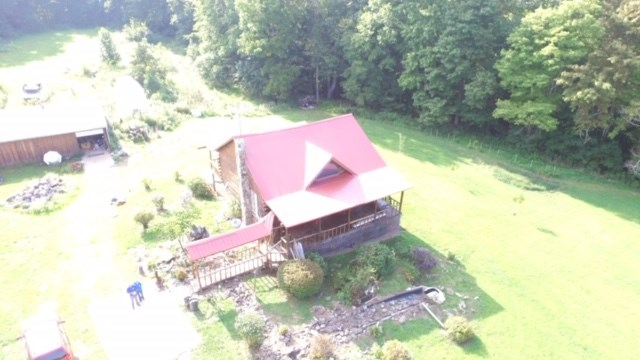 Monroe County, OH Log Cabin home on Acreage