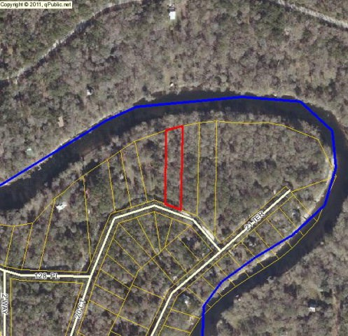NICE 1 ACRE LOT ON THE SANTA FE RIVER - Branford, Florida