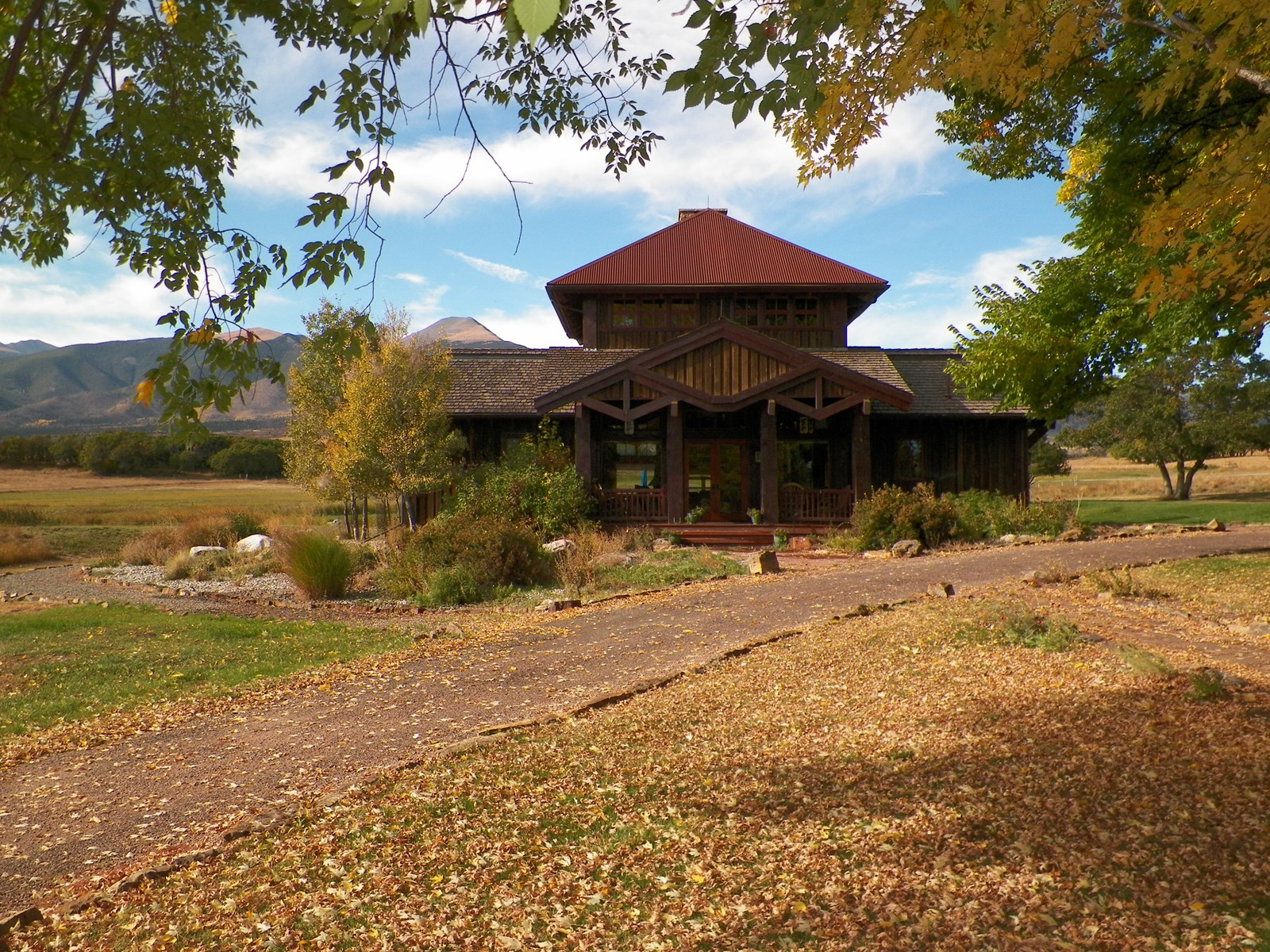 Fall at Maytag Mountain Ranch