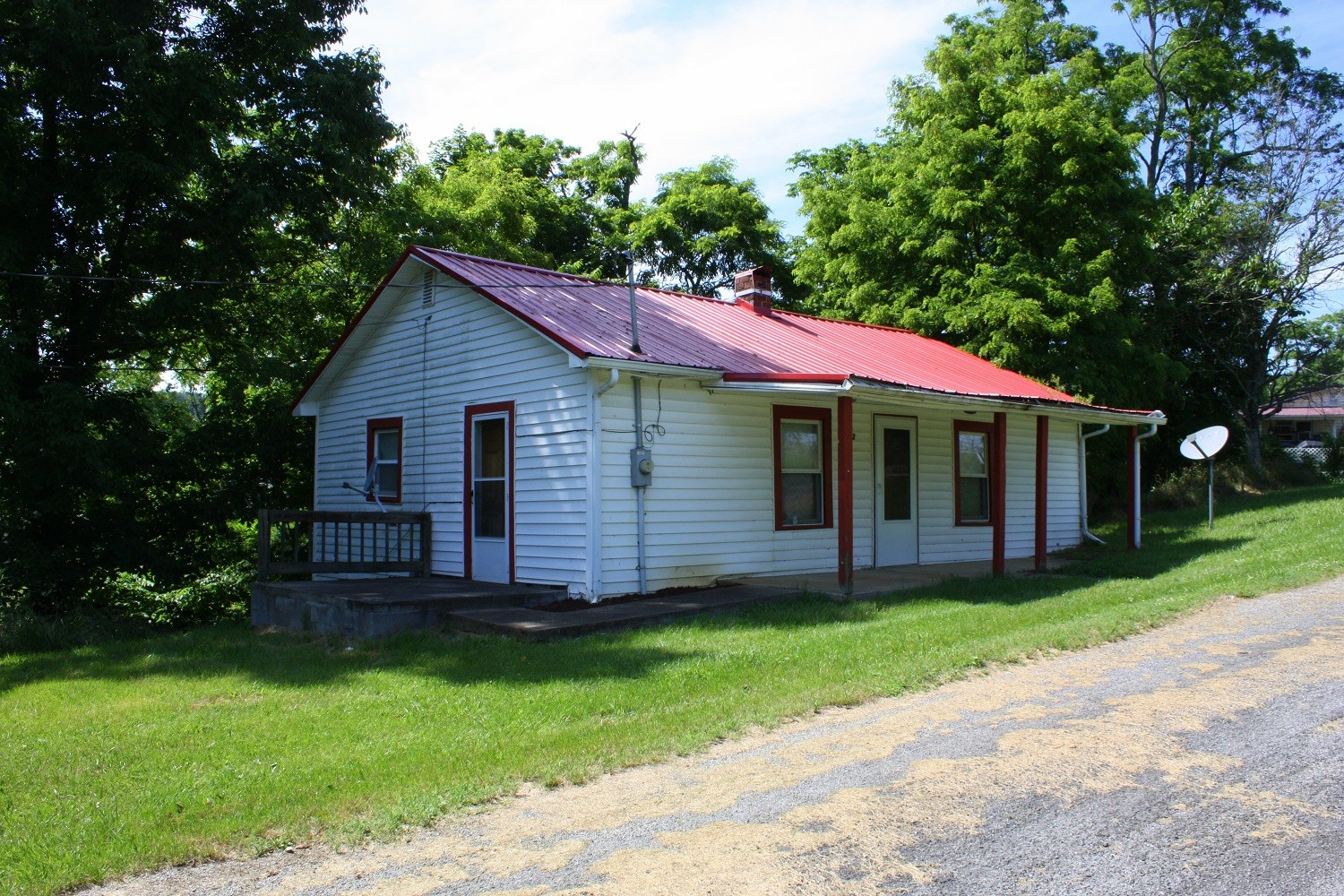 Country Home With Potential For Sale In Abingdon VA