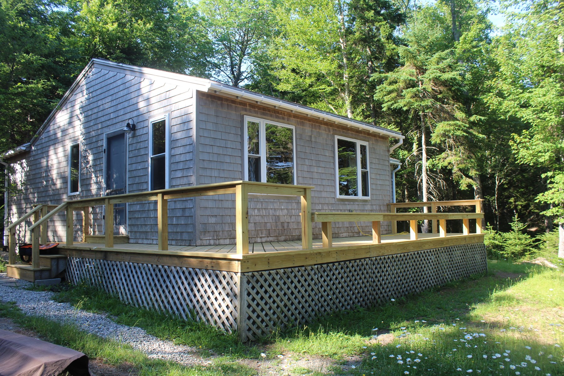 Maine Coastal Country Home for Sale in Lubec