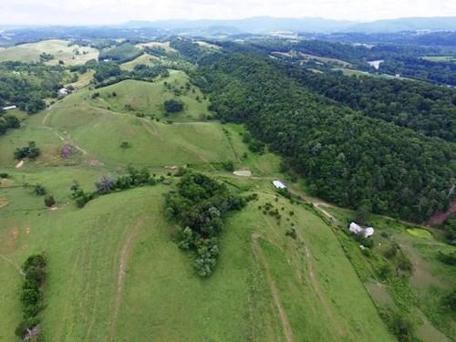 Historic Home on 205 acres of farm land near New River, VA