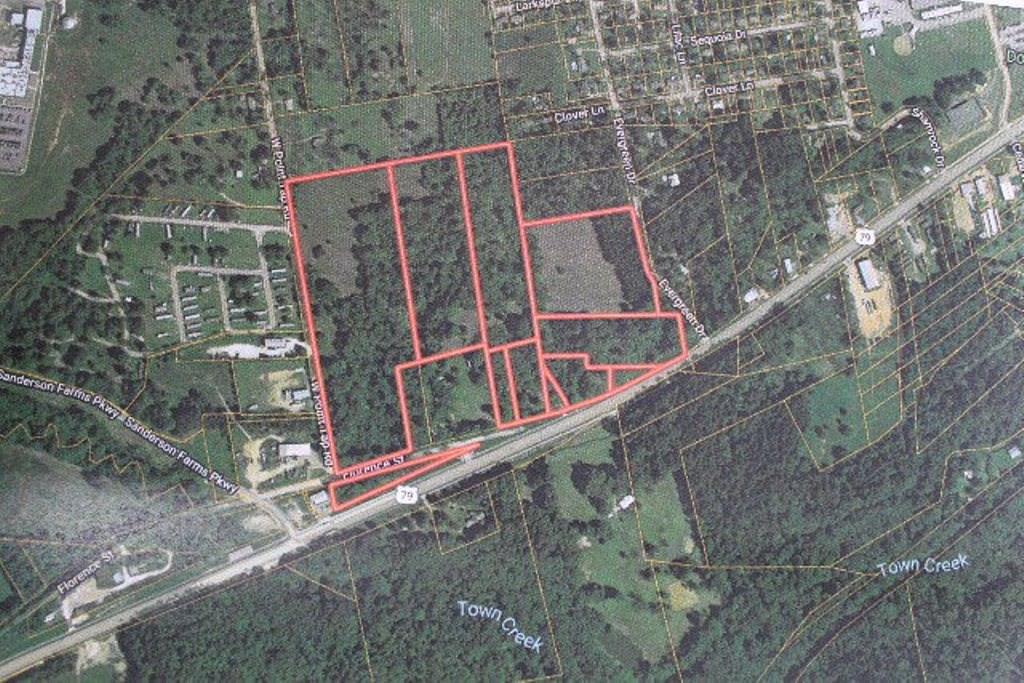 COMMERCIAL, RESIDENTIAL DEVELOPMENT TRACT FOR SALE EAST TX