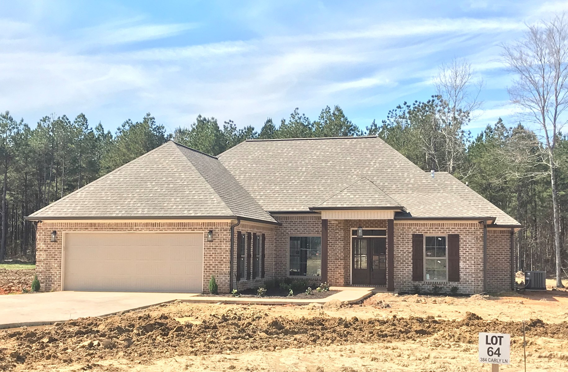 New 4bd/2ba Home in Oktibbeha County