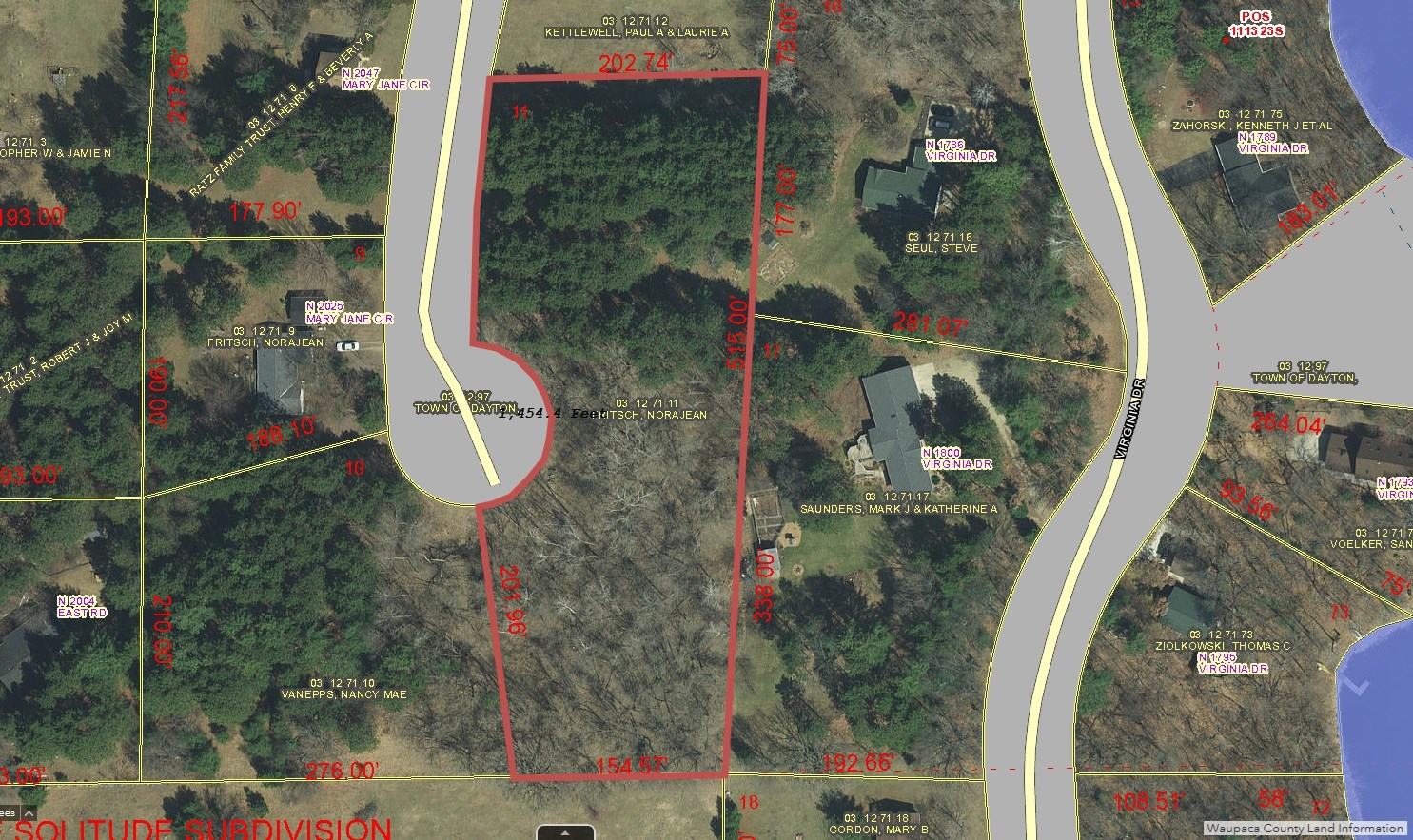 Buildable Lot for sale Waupaca, WI