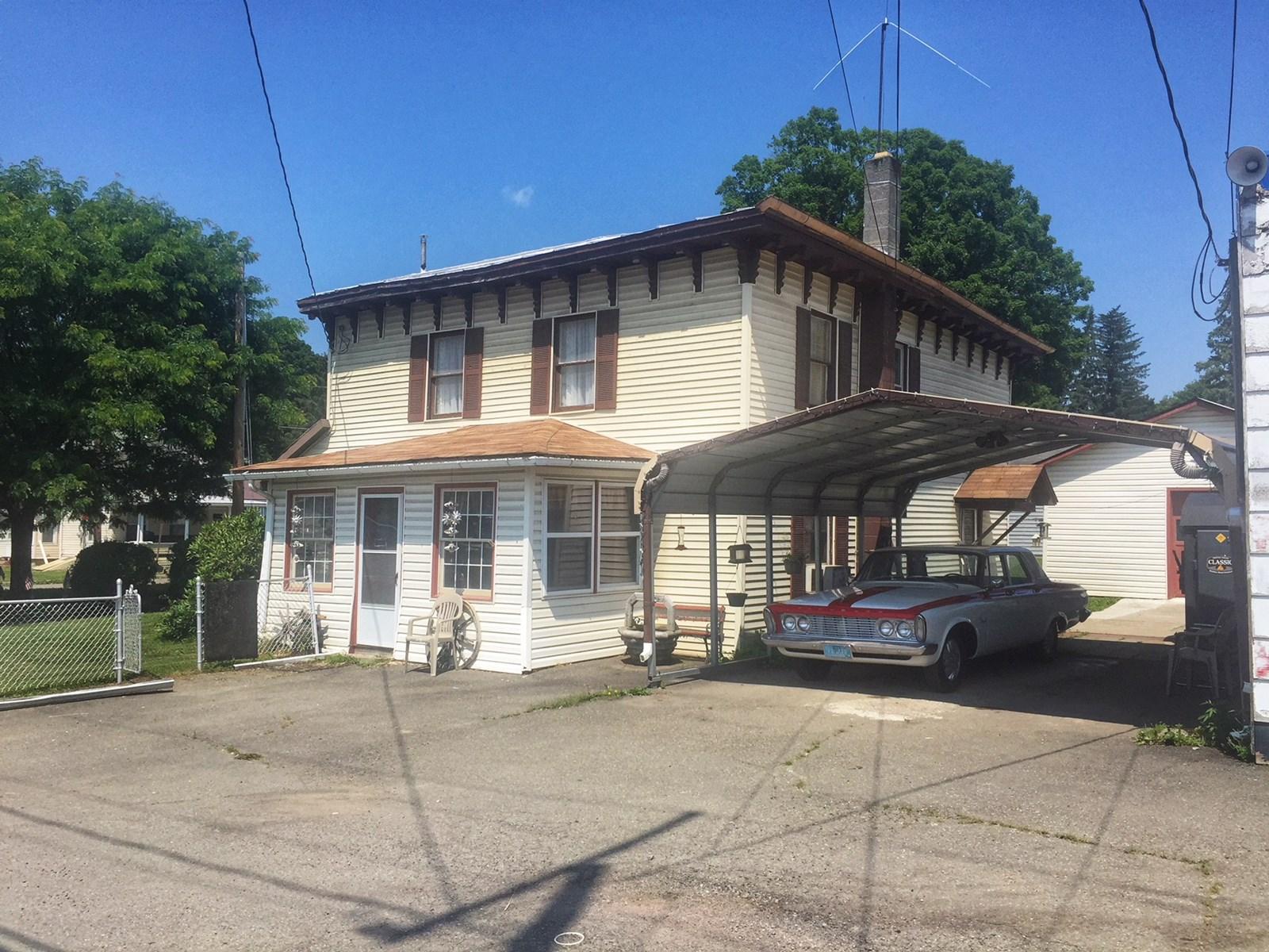 Home & Auto Garage For Sale in Tioga County, PA