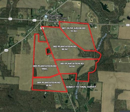 Land for Sale Delaware County For Building Lot - Farm Land