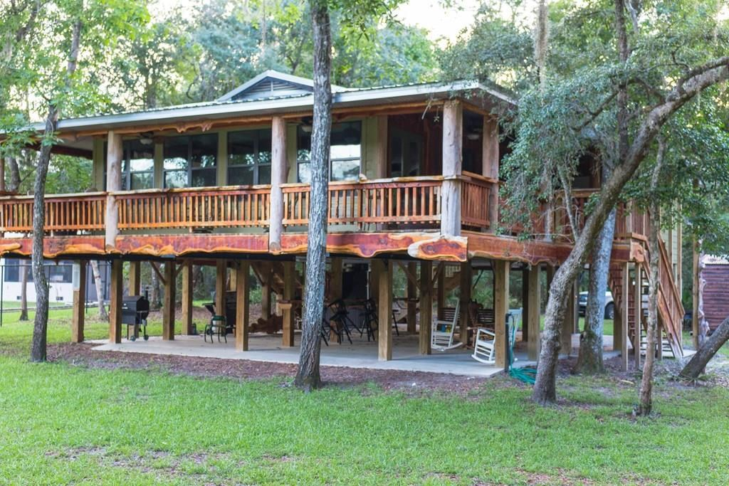 RUSTIC SUWANNEE RIVER RETREAT - Branford, Florida