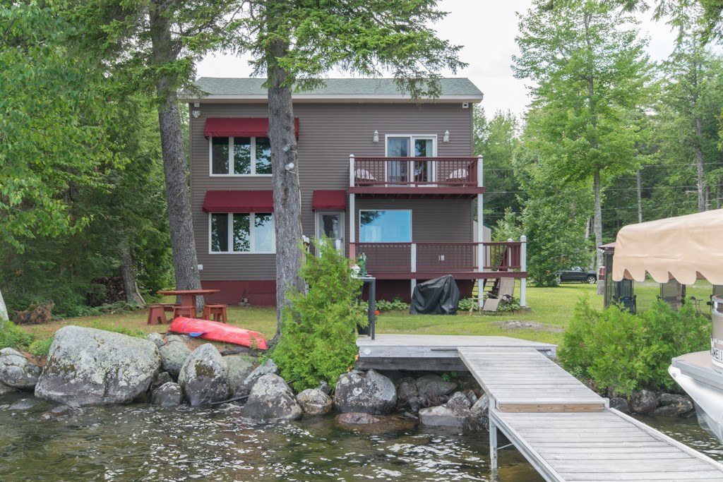 Maine Lakefront Home for Sale  in Lakeview Plt
