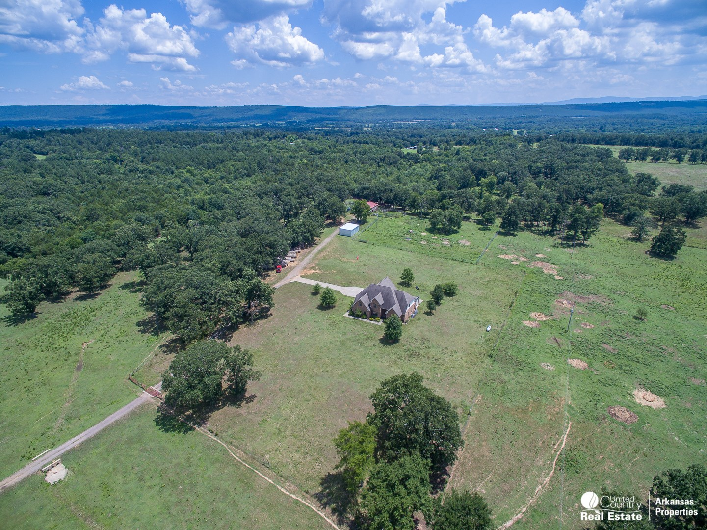 Equine Ranch with Beautiful Home in Scott County, Arkansas