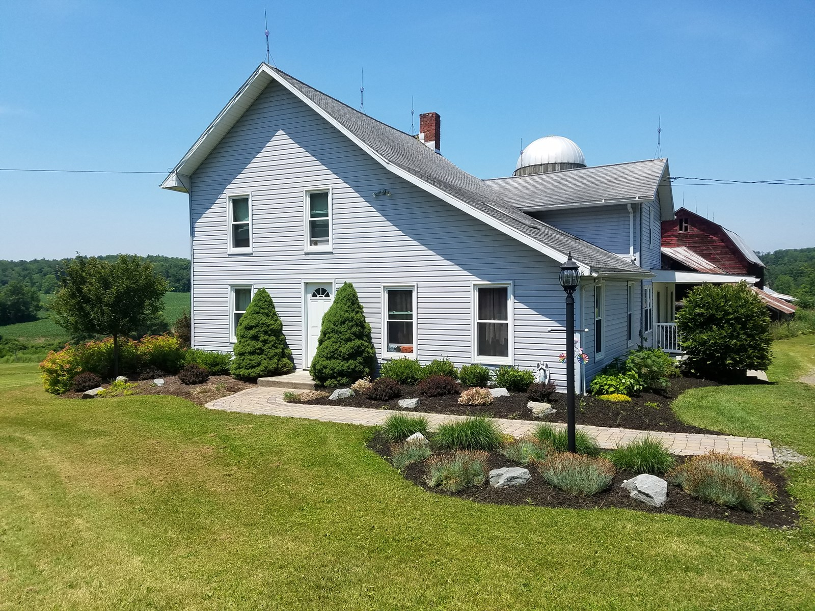 FAMILY FARM FOR SALE TIOGA COUNTY NY 144 ACRES