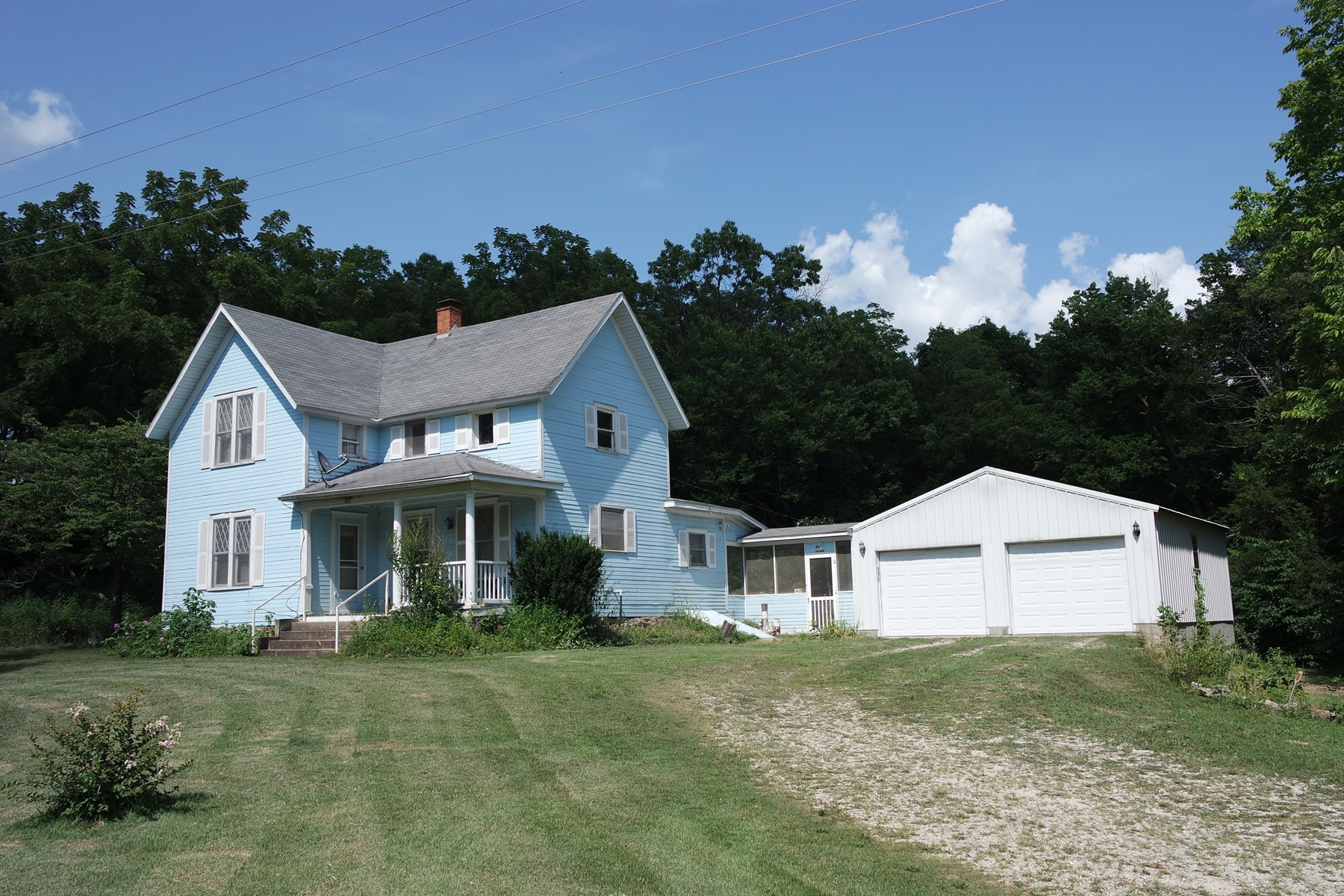 Southern Missouri Home for Sale with River Frontage