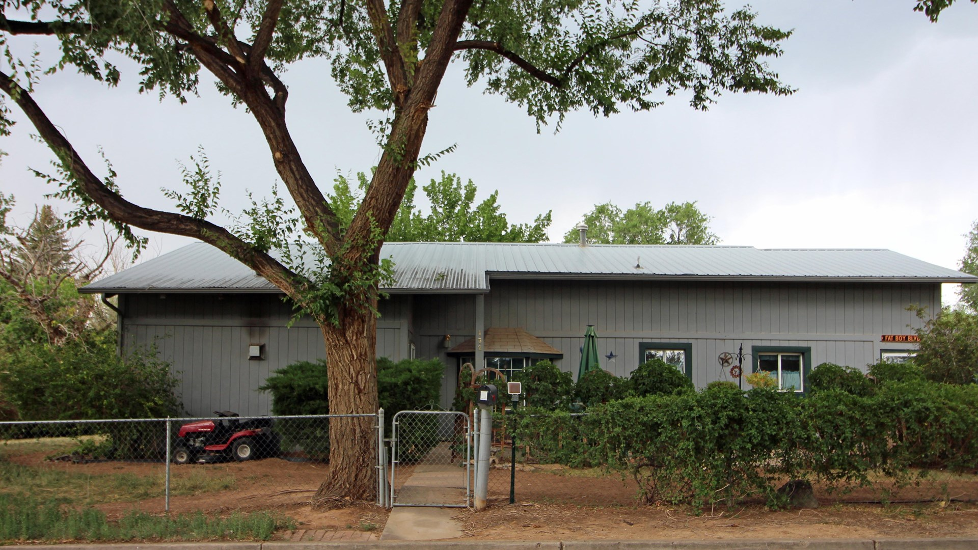 Cortez CO Home For Sale, Fenced Yard, Shade Trees