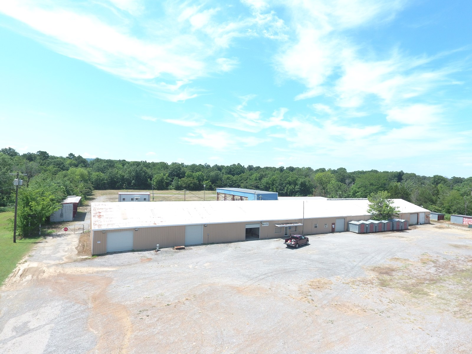 Oil field yard- Commercial property southeast Oklahoma