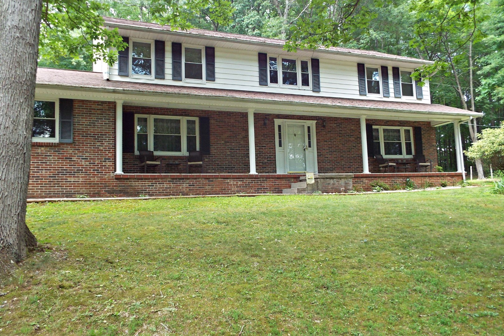Private Brick Home w/Acreage Between Tazewell and Bluefield