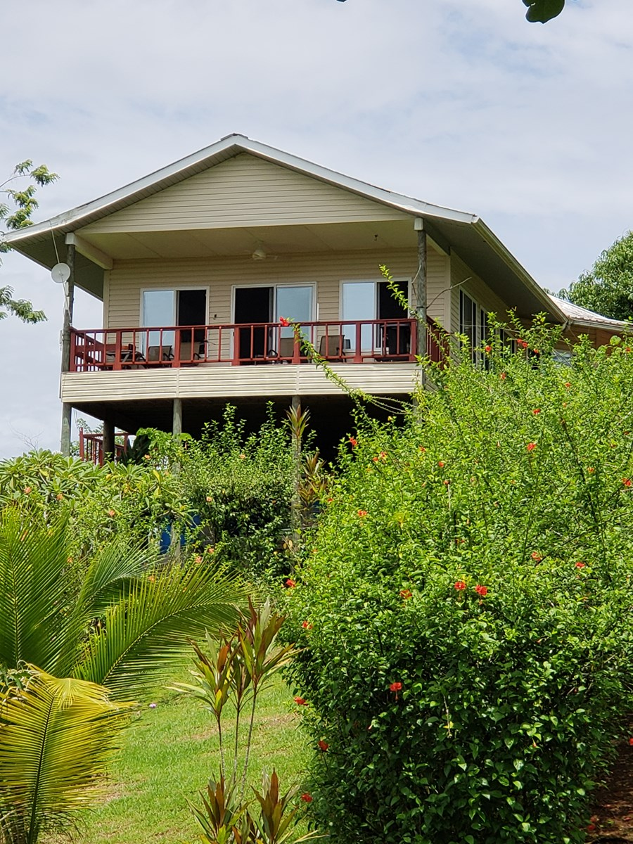 180 degree views from hilltop home, Bocas del Toro Panama