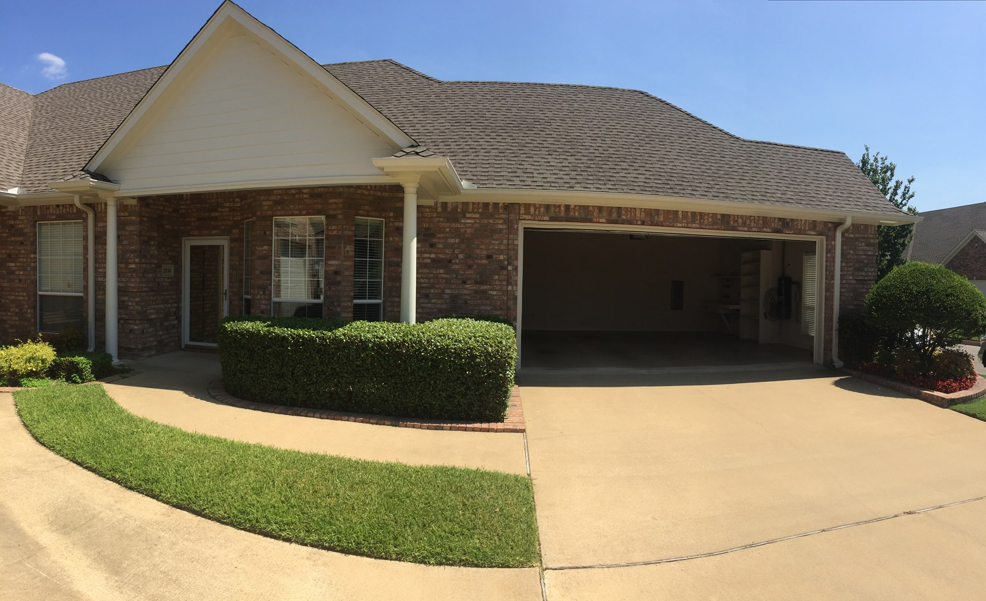 Tyler Texas Garden Home For Sale In Gated Community