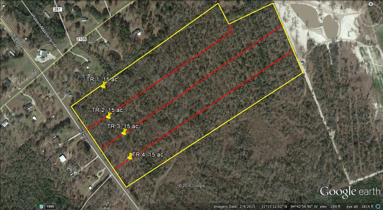 15 ACRES WOODED RESIDENTIAL LAND - HAVE UP TO 60 ACRES