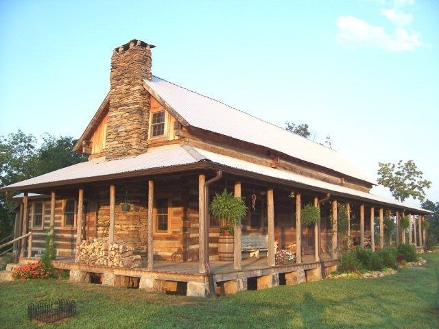 LOG HOME - 35 ACRES-SMITH RIVER FRONTAGE-IN HENRY COUNTY, VA