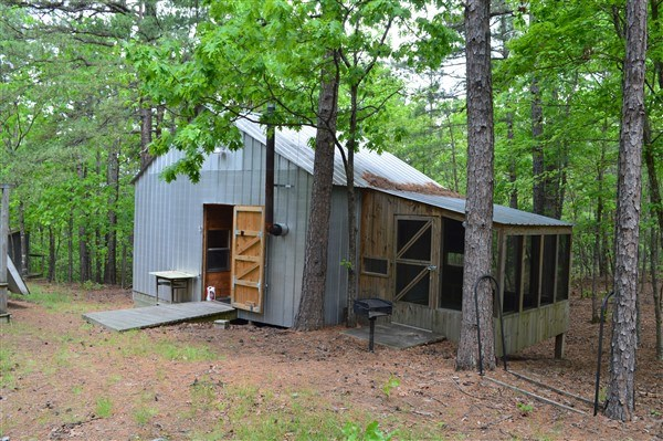 11 Acres and 2 Mountain Cabins Adjoining National Forest