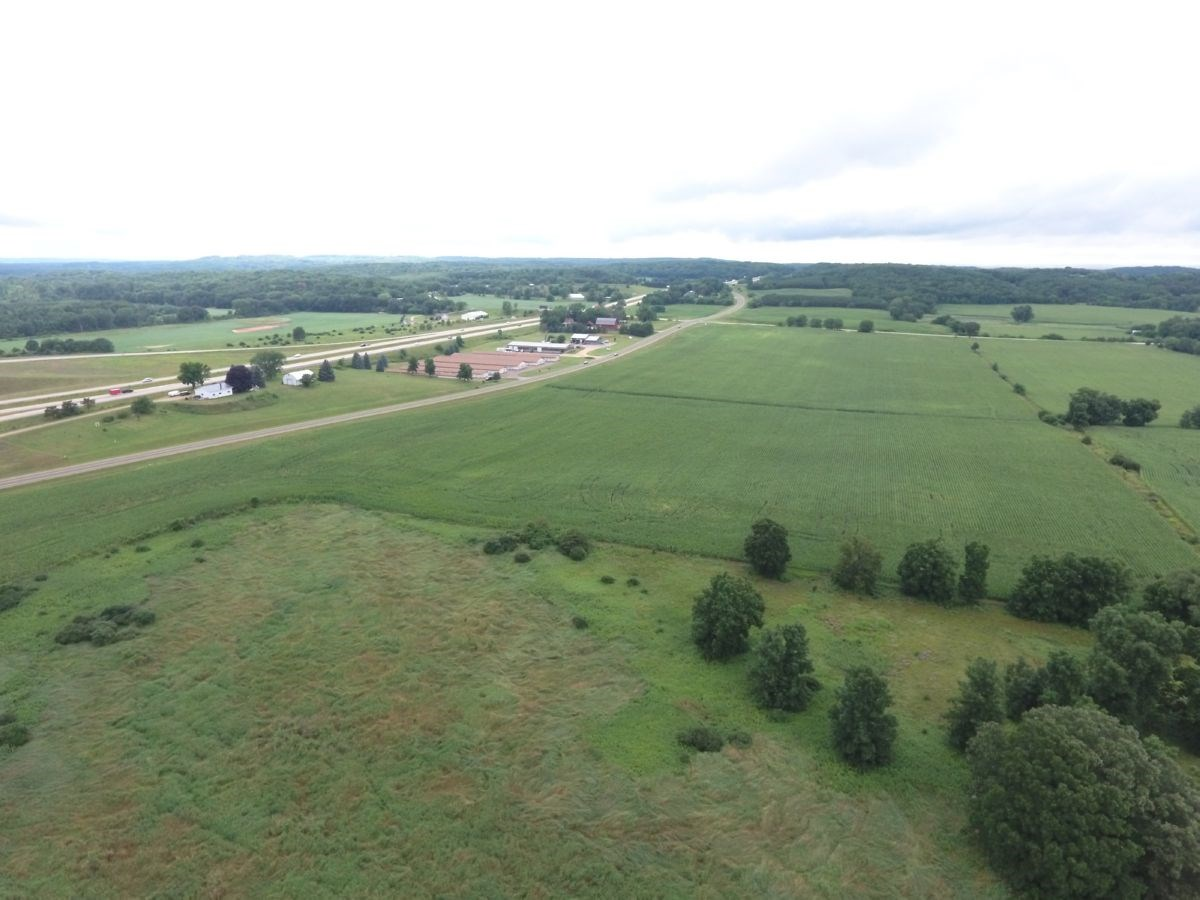 55 Acres of Highly Visible Hwy Frontage in Portage WI