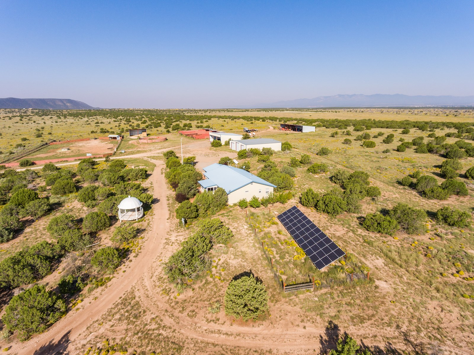 Central NM Horse Property For Sale 1,040 Ac by Mountainair
