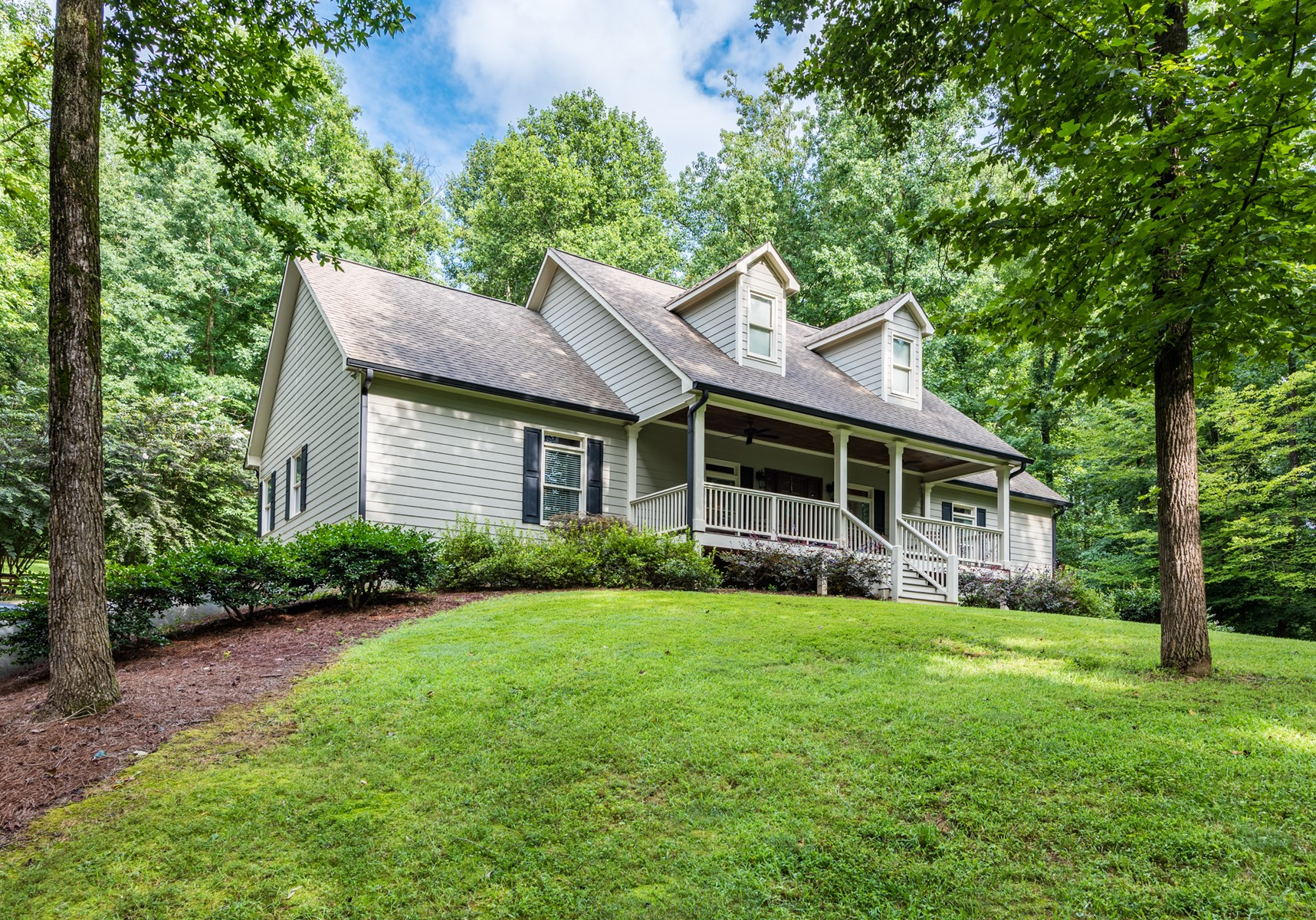 North GA Ranch Style Home 4.94 Acres Pickens CO Talking Rock