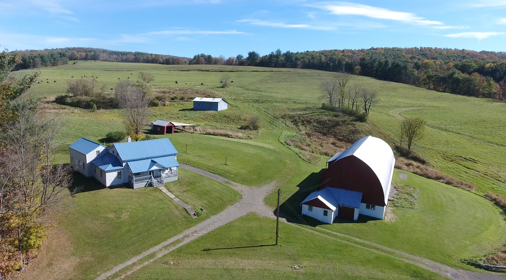 FAMILY FARM- GOOD FARMHOUSE, BARN, 155 ACRES-BROOME CO., NY