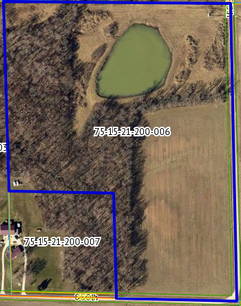 Country Living! 25 acres with pond in Jasper County