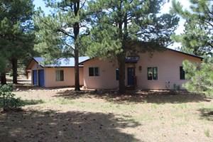 POST & BEAM HOME IN ANGEL FIRE NM, GOLF/SKI RESORT, SKI/BIKE