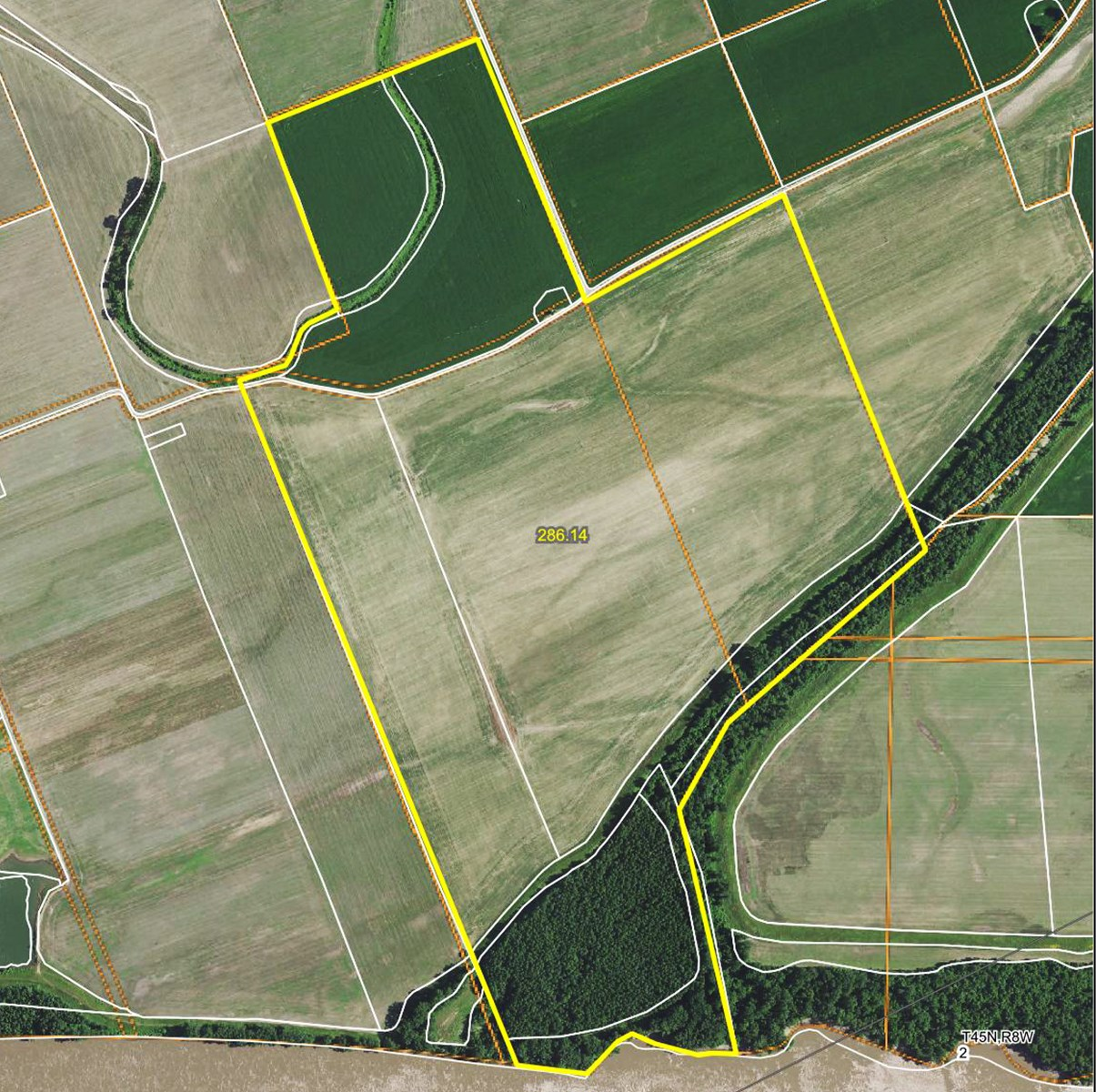Tillable River Bottom Land For Sale in Callaway County, MO