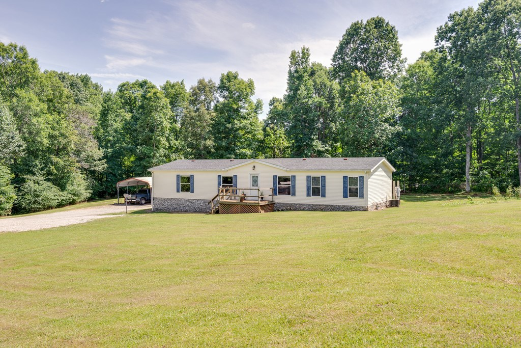 Hohenwald, TN Lewis County Country Home w/ Acreage For Sale